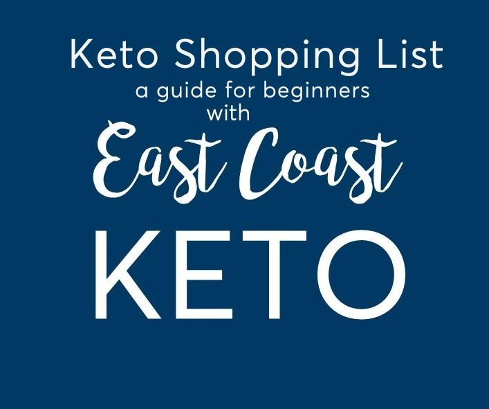 Keto shopping guide