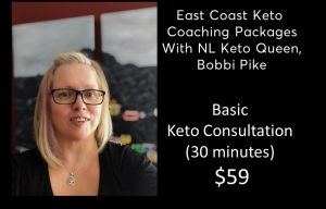 Basic Keto Consult - 30 minutes NO meal plan