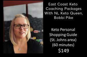 Keto Personal Shopping Guide (St. Johns area)