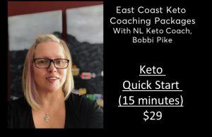 Keto Quick start - 15 minutes