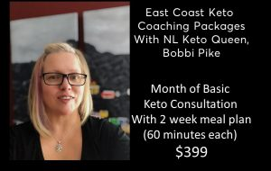 Month of Basic Keto Consultation  - 4x60 with meal plan